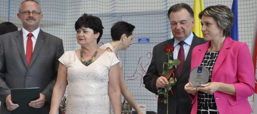 Za długoletnią służbę w samorządzie nagrodę od marszałka otrzymała przewodnicząca Barbara Michalska