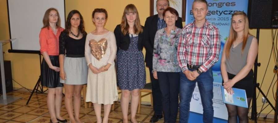 Uczniowie i nauczyciele podczas kongresu