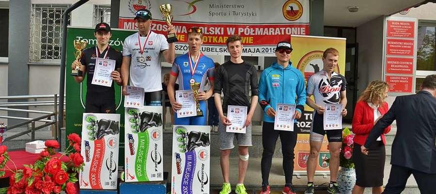 Maciej Krynicki podczas Mistrzostw Polski w półmaratonie zajął szóste miejsce
