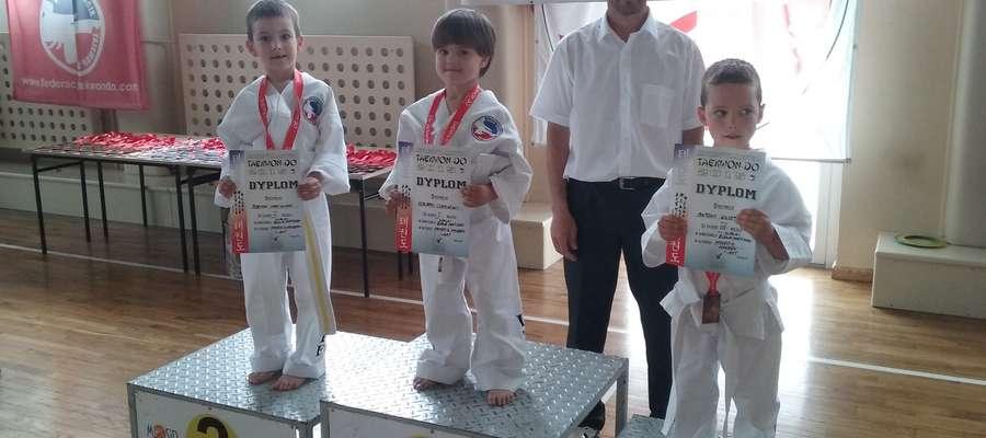 Pięcioletni Konrad Czapiliński wywalczył złoto