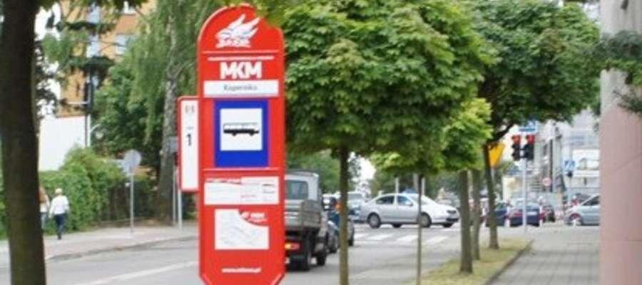 Oprócz rozkładu jazdy można znaleźć informacje o przebiegu tras  linii MKM