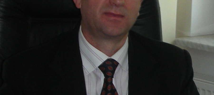 Wójt Radzanowa Andrzej Wójcik