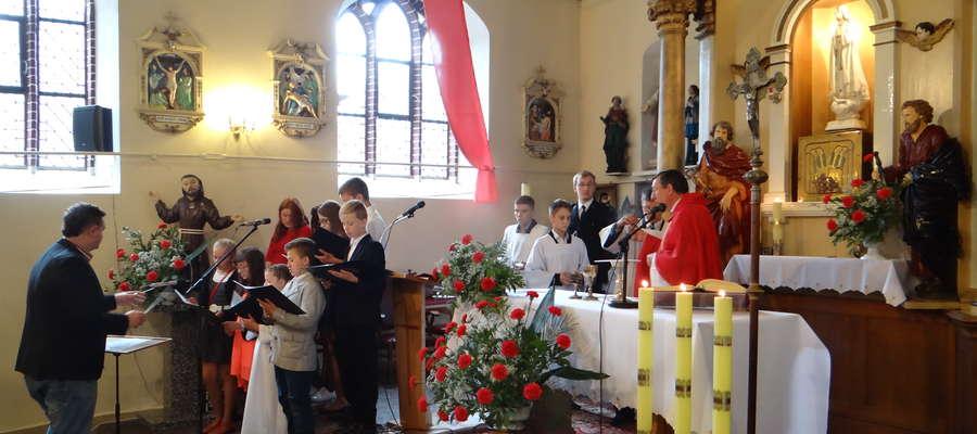 Uroczystość odpustowa w kościele św. Jakuba w Mikołajkach