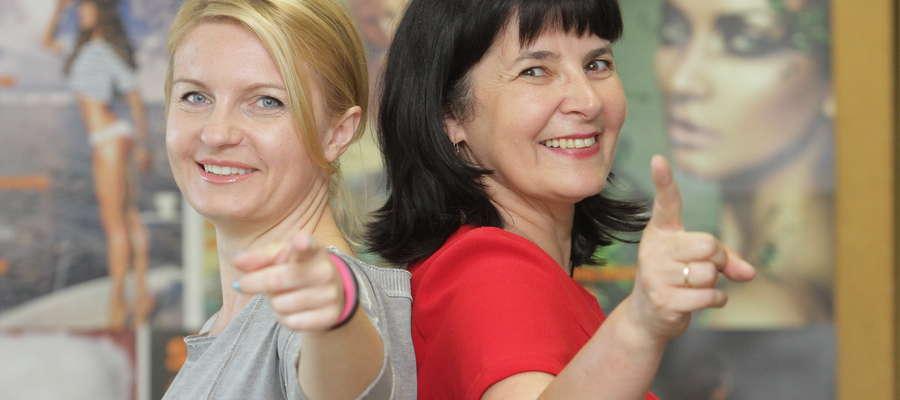 """Beata Tokarczyk, dyrektor handlowy w Grupie Medialnej """"Gazety Olsztyńskiej"""" i Krystyna Kamińska-Rychlicka, jej zastępca"""