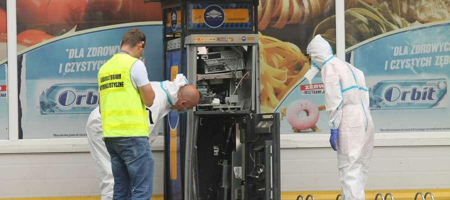 Wcześniej do wysadzeń bankomatów dochodziło m.in. w Olsztynie