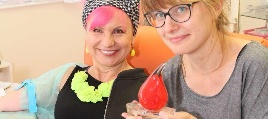 Ewa Cichocka i Katarzyna Staszko, ambasadorki klubu.