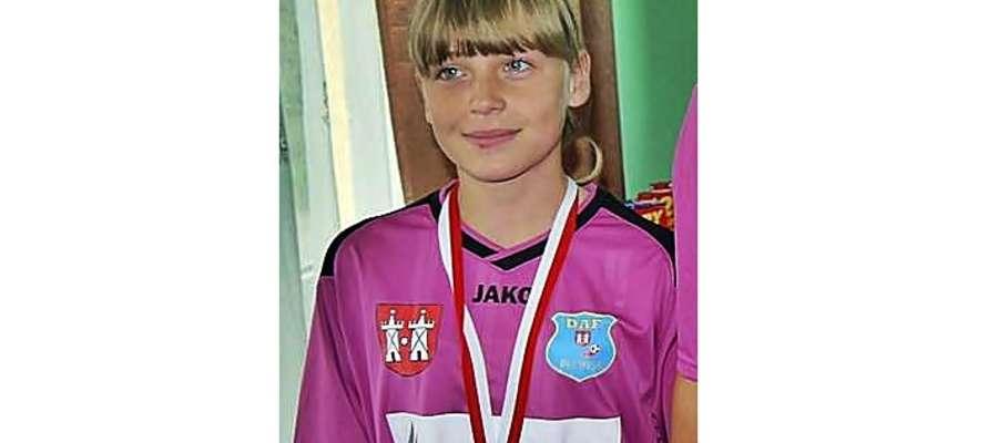 Martyna Sobczyńska weźmie udział w zgrupowanie kadr wojewódzkich U-16 piłki nożnej kobiet