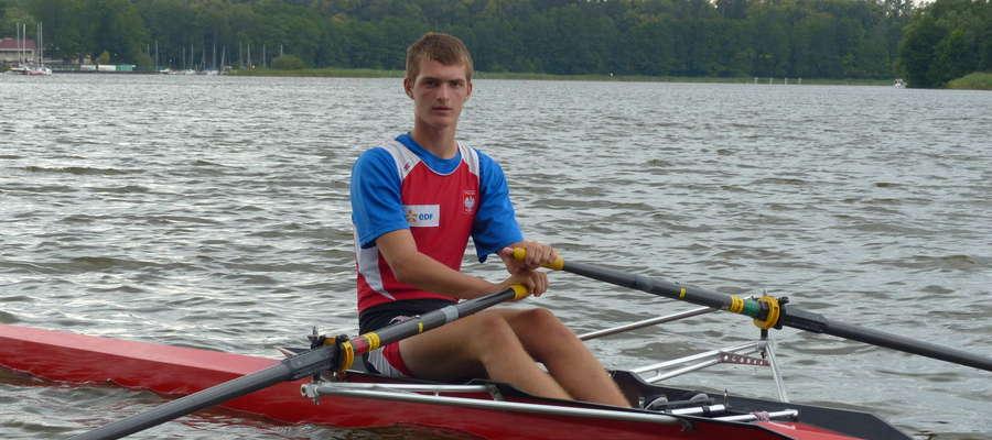 Adrian Jackowski ma już za sobą pierwsze starty w reprezentacji Polski