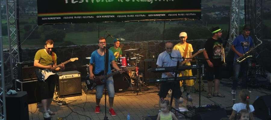 Reggaeside podczas ubiegłorocznego koncertu w amfiteatrze