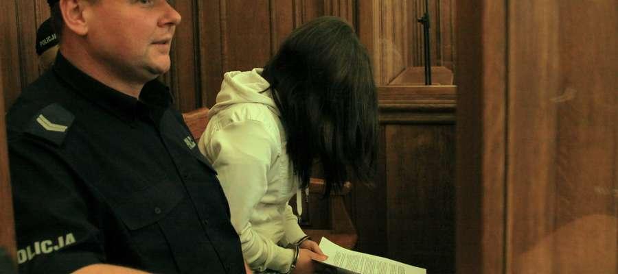 Weronika K. przed elbląskim sądem