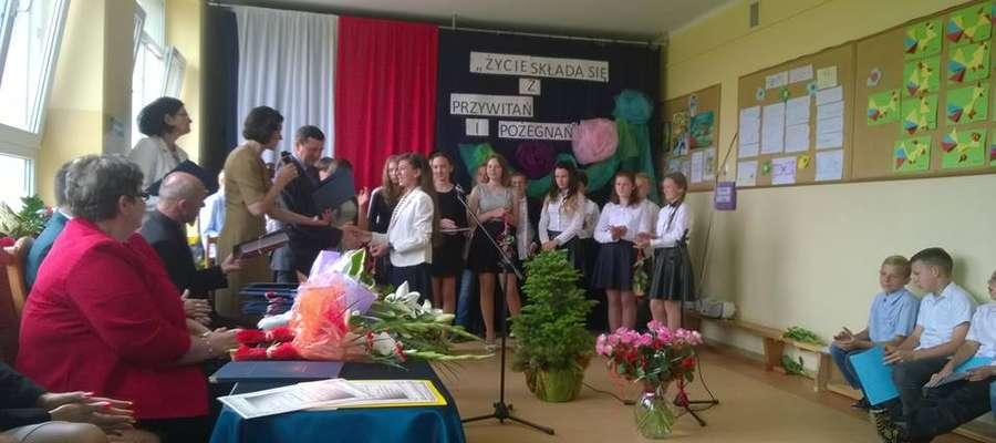 Uroczyste zakończenie roku szkolnego w Błudowie