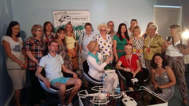 Dziennikarze polonijni z kresów wschodnich z wizytą w redakcji Gazety Olsztyńskiej w sierpniu 2015 roku