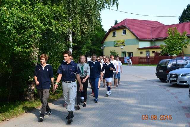 Wspólne kolonie węgorzewskich harcerzy i młodzieży polonijnej z Kaliningradu - full image