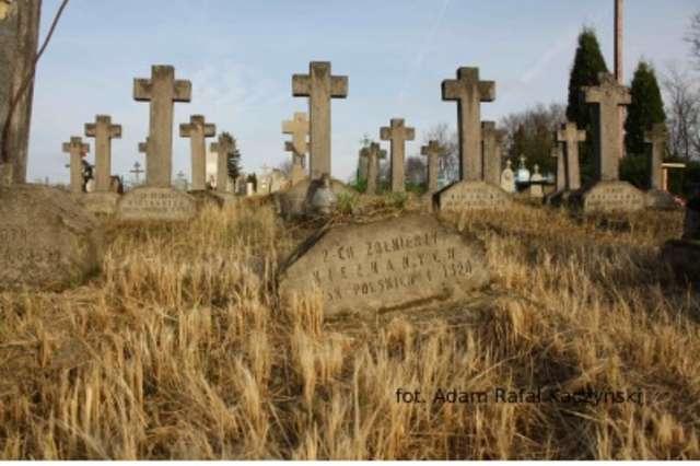 Cmentarz w miejscowości Podświle (biał.Падсвілле) - full image