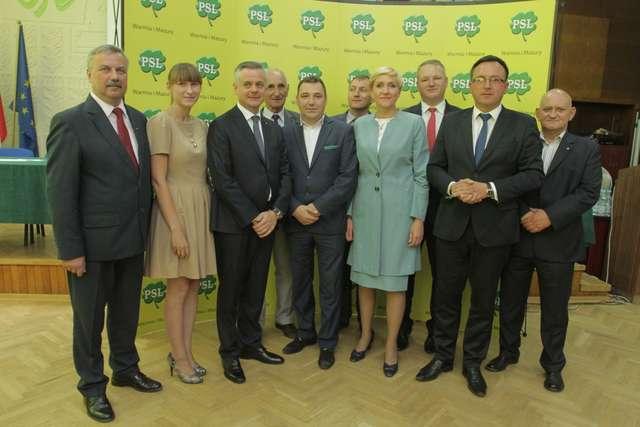Polskie Stronnictwo Ludowe ogłosiło listy kandydatów do Sejmu - full image