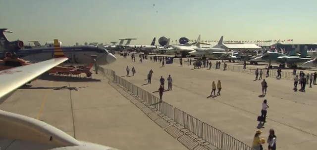 Targi wojskowe i kosmiczne MAKS-2015 odbyły się pod Moskwą - full image