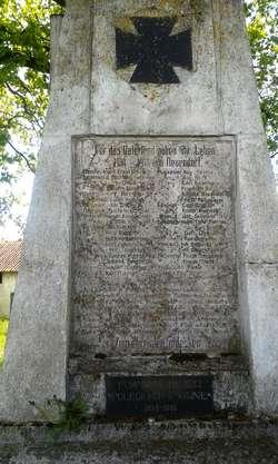 Pomnik poległych w Nowej Wsi Ełckiej