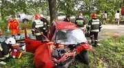 Wypadek pod Jegławkami. Jedna osoba w szpitalu