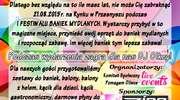 Festiwal Baniek Mydlanych - Pomagamy Oliwce