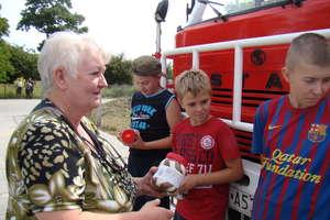 Strażacy z Mołtajn dzieciom