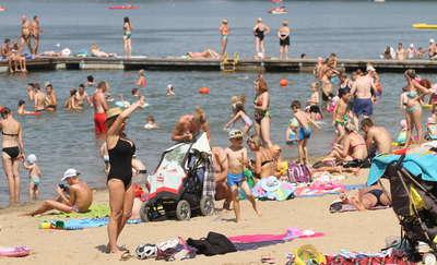 Uwaga! Zamknięte wszystkie kąpieliska nad jeziorem Ukiel w Olsztynie