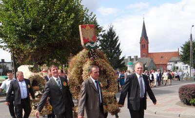Dożynkowe świętowanie w Biskupcu Pomorskim
