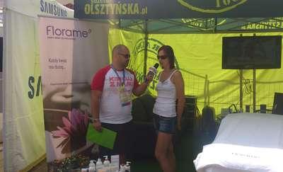 Grand Slam 2015 z Olsztyńska.TV: rozmowa z Moniką Kozak, ekspertką firmy Florame