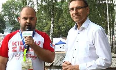 OlsztyńskaTV: Rozmawiamy z Piotrem Grzymowiczem, prezydentem Olsztyna