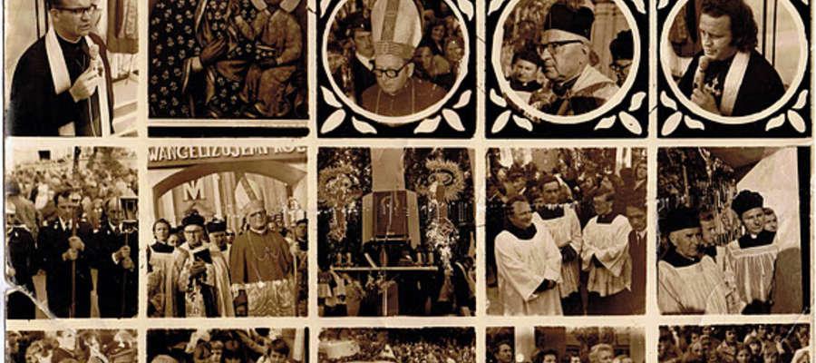 Obraz Matki Boskiej Częstochowskiej odwiedził Żuromin 39 lat temu
