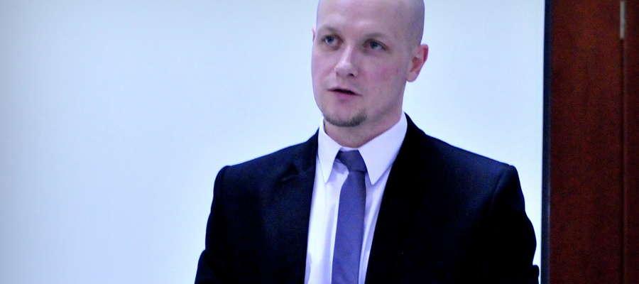 Michał Bodenszac jeden z pomysłodawców Budżetu Obywatelskiego Żuromina jest zadowolony, że wpłynęło 12 wniosków