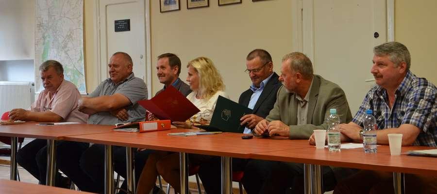 Posiedzenie Rady Powiatowej Warmińsko-Mazurskiej Izby Rolniczej w Węgorzewie