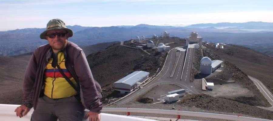 Zdjęcie z 27 czerwca w obserwatorium La Silla w La Serena, Chile