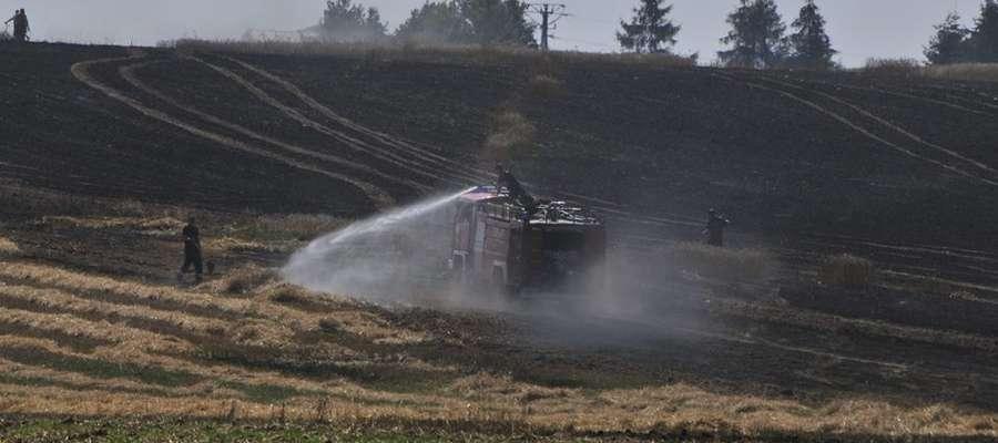 Pożar w Zielonej gasiło 20 jednostek straży pożarnej
