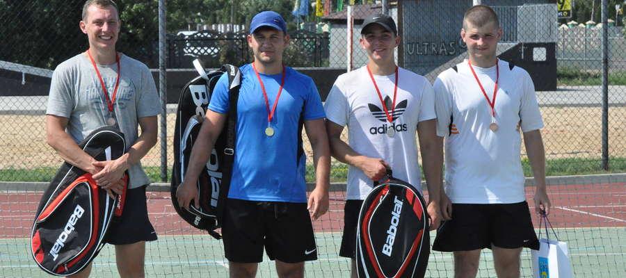 Najlepsi tenisiści z nagrodami