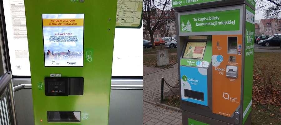 Poza biletomatami w autobusach, na terenie miasta ma stanąć 37 urządzeń stacjonarnych.