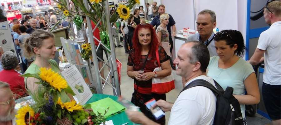 Nowomiejska delegacja podczas zwiedzania targów LandTageNord w Wüsting