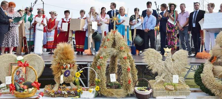 Dożynki w Kozłowie - w podziękowaniu za tegoroczne plony