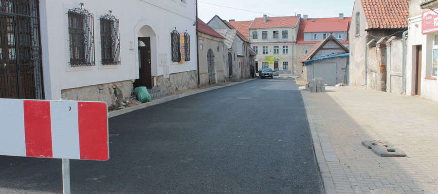 Ulica Fryzjerska po remoncie na który czekała 19 lat.