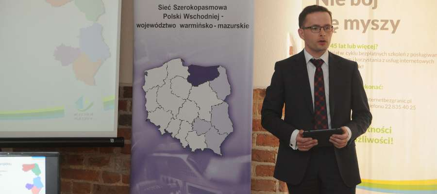 Maciej Bułkowski Dyrektor Departamentu Społeczeństwa Informacyjnego Urzędu Marszałkowskiego