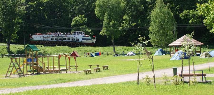 Baza rekreacyjno - biwakowa w Buczyńcu