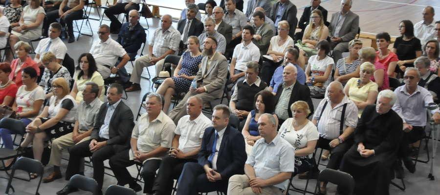 Władze samorządowe podczas święta powiatu fot. arch.