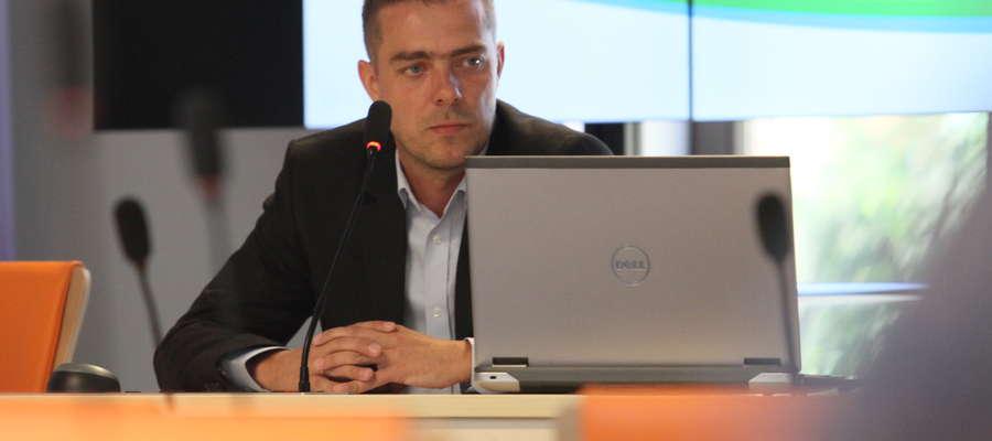 Aleksander Jazdowski – główny specjalista ds. budowy i eksploatacji sieci w Departamencie Społeczeństwa Informacyjnego Urzędu Marszałkowskiego.