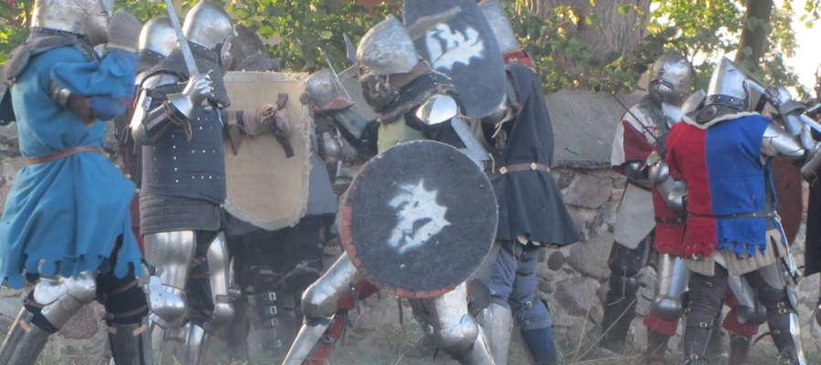 Na kościelnym wzgórzu walczyli rycerze