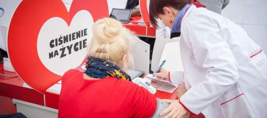"""Prozdrowotna akcja ,,Ciśnienie na Życie"""" w Płońsku już 17/18 sierpnia"""