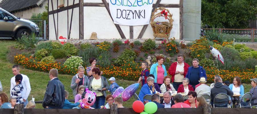 Dożynki Wiejskie w Ostaszewie