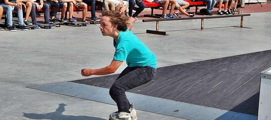 Agresywna jazda na rolkach na płońskim skateparku już 29 sierpnia