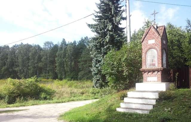 Kapliczka przy drodze Kieźliny - Dągi