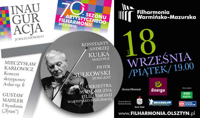 Inauguracja jubileuszowego 70. sezonu artystycznego w filharmonii - full image