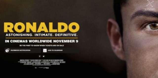 Jest już zwiastun filmu o Cristiano Ronaldo. Produkcja trafi do kin w listopadzie - full image