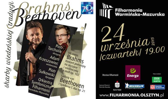 """""""Brahms, Beethoven – skarby wiedeńskiej tradycji"""" w Filharmonii Warmińsko-Mazurskiej - full image"""